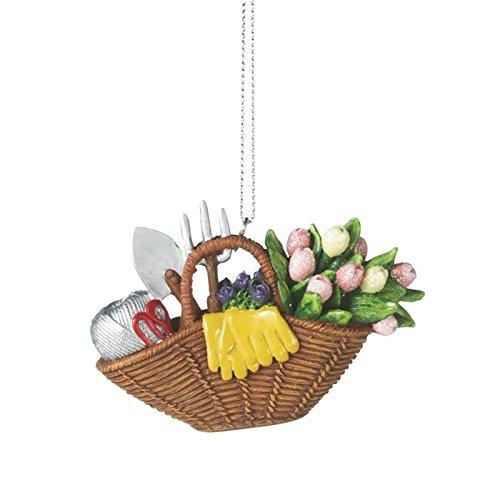 Gardening themed basket for Gardening tools gift basket