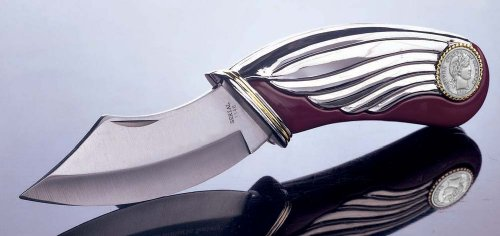 American Coin Treasures Silver Barber Dime Pocket Knife