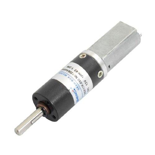 Dc 12V 40Rpm Output Speed 2 Pin Electric Mini Geared Motor 17Mm Dia.