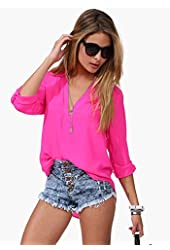 2015 Spring Summer Women Sexy Tops Plus Size Long Sleeve Blouse Maxi Top