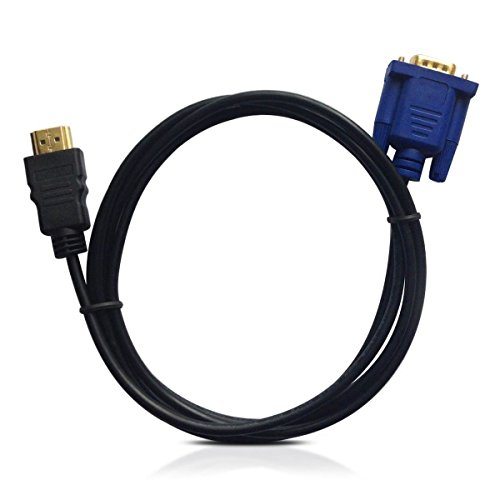 HDMI to VGA Cable, VAlinks HDMI Male to VGA Male D-SUB 15