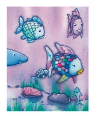 Marcus Pfister The Rainbow Fish II Foil Art Print Poster - 16x20