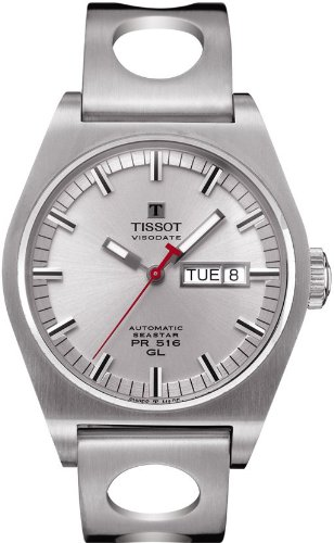 tissot-t0714301103100-pr-516-mens-silver-automatic-heritage-watch-0714301103100