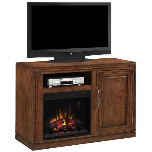 Party Time Triple Function Mantel In Oak 23Tf2587-O114 Mantel Only