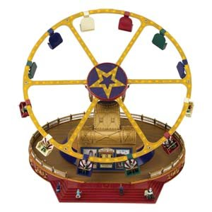 Mr. Christmas World's Fair Animated Musical Carnival Frenzy Ride