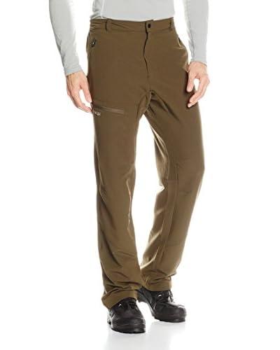 Kilpi Pantalone da Sci Sebastian [Marrone]