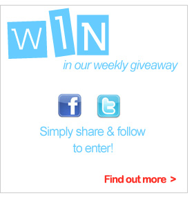Find out how to enter our weekly giveaway.