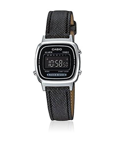Casio Reloj con movimiento japonés Vintage Negro 25  mm