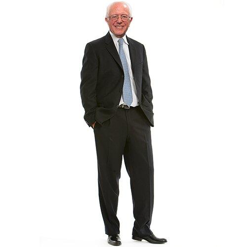 H38007 Bernie Sanders Cardboard Cutout Standup