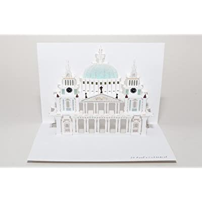 St Paul's Cathedral Pop Up Card
