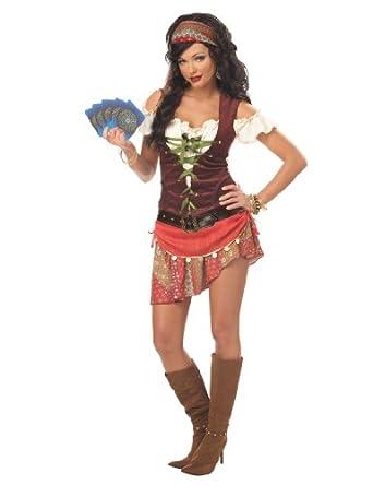 Amazon.com: California Costumes Women's Mystic Gypsy Costume: Adult