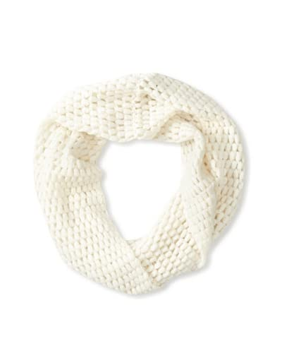 Quinn Cashmere Women's Effervescent Snood, White, One Size