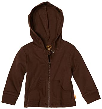 Disney Baby-Boys Newborn Hooded Jacket, Brown, 3-6 Months