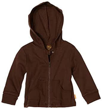 Disney Baby-Boys Newborn Hooded Jacket, Brown, 0-3 Months