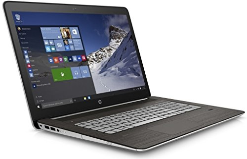 Hp envy notebook 17 r107na 173 full hd ag led intel quad core i7 6700hq 26ghz 32ghz 16gb ram 512gb ssd dvdrw wifi bluetooth webcam fingerprint windows 10 64 v2h38ea