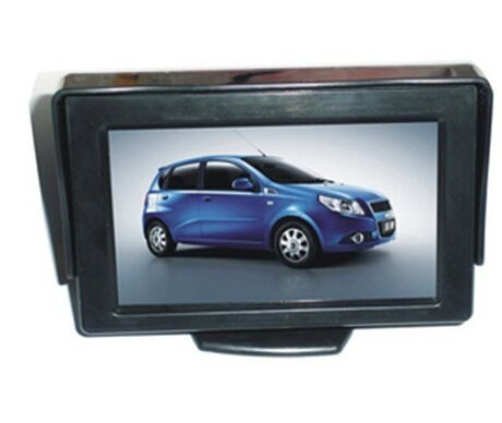 Riorand® 4.3 Inch Color Digital Tft Lcd Screen Car Rear View Mirror Monitor Rr-431