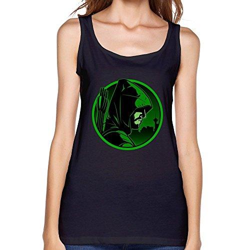 Donna's Green Arrow Tv Logo Tank Top Small