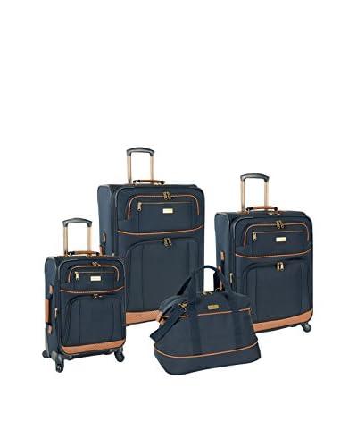 Tommy Bahama Mojito 4-Piece Luggage Set, Navy