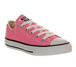 Converse Kids Chuck Taylor All Star Pink Textile Trainers 11.5 US