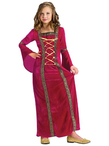 Fun World - Renaissance Miss Child Costume