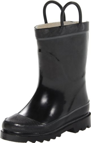 Western Chief Firechief 2 Navy Rain Boot (Toddler/Little Kid/Big Kid),Black,8 M Us Toddler front-1017157
