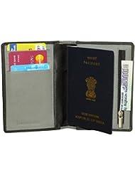 Style98 Leather Passport Wallet Cum Passport Holder/Cover For Men And Women - B01FZDDQ2U