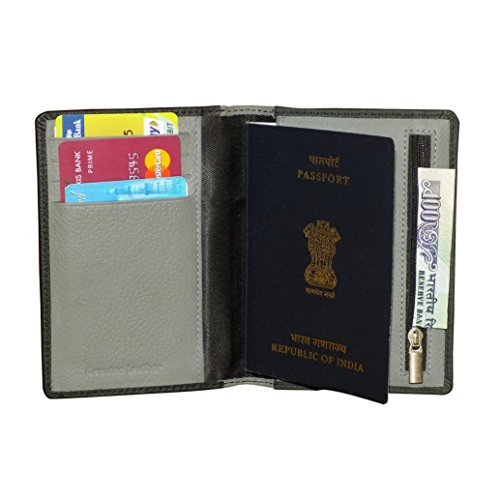 Style98 Leather Passport Wallet Cum Passport Holder/Cover for men and Women  available at amazon for Rs.395