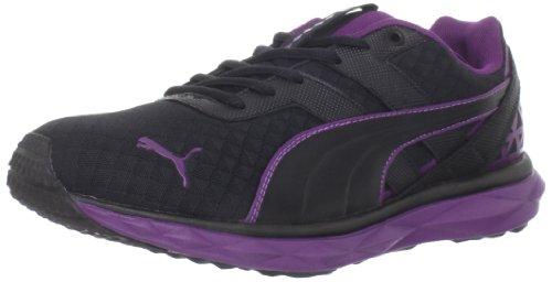 0217c9cc8a83 Puma Women s Pumagility Speed 2 Running Shoe Black Purple 6 B US ...