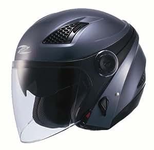 ナンカイ(NANKAI) ZEUS HELMET ゼウス クロノス ジェットヘルメット カラー:ガンメタ サイズ:M NAZ-211 CRONUS