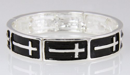 4030470 Christian Scripture Bangle Bracelet Religious Faith Hope Love Bible