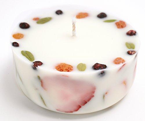 Peppermint-Lemon-Aromatherapie-Bio-Soja-Kerze-mit-echten-Erdbeeren