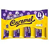 Cadbury Dairy Milk Caramel 4 Pack 154G x Case of 15
