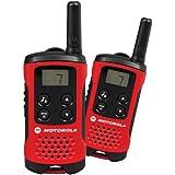 Motorola Paire de talkies walkies Motorola T40 portée en champs libre 4km Rouge