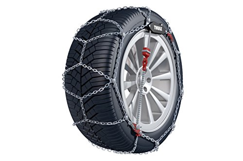 Thule 9mm CG9 Premium Passenger Car Snow Chain, Size 104 (Sold in pairs) (2013 Mustang Spare Tire compare prices)