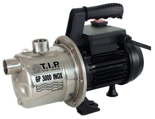 30111 Gartenpumpe Edelstahl GP 3000 Inox, bis 2.950 l/h Fördermenge