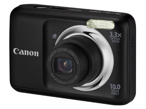 Canon PowerShot A800 Digital Camera - Black (10MP,