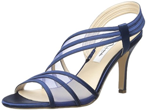 Nina Women's Vitalia Dress Sandal, New Navy, 8 M US