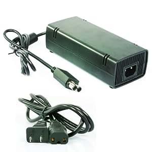 Original Microsoft XBOX 360 Slim AC Adapter Power Supply
