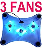 Laptop Notebook Cool Pad w/ 3 Fans