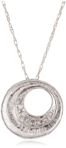 Kobelli 0.04 Cttw Diamond Fashion Pendant Necklace