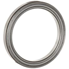 WJB 6800-ZZ Series Deep Groove Ball Bearing, Double Sheilded, Metric