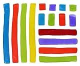 Design Ideas GelGems Bag, Large, Stripes