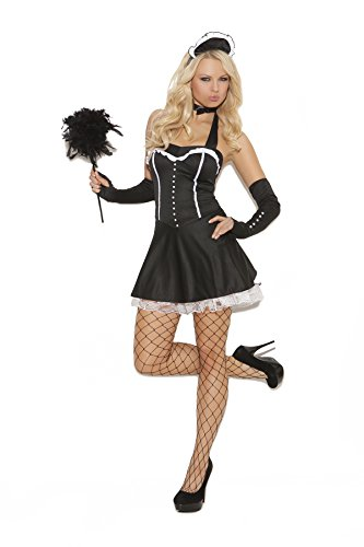 Sexy Women's Racy Steampunk Rose Adult Roleplay Costume