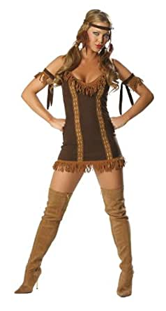 Indian Princess - Women's Cowgirl Sexy Halloween Costumes