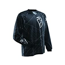 Thor Mens Static Motocross Jersey Black Medium M