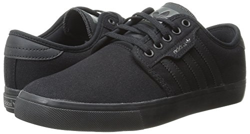 Adidas Originals Men's Seeley Lace Up Shoe, Black/Black/Dark Cinder, 8.5 M US