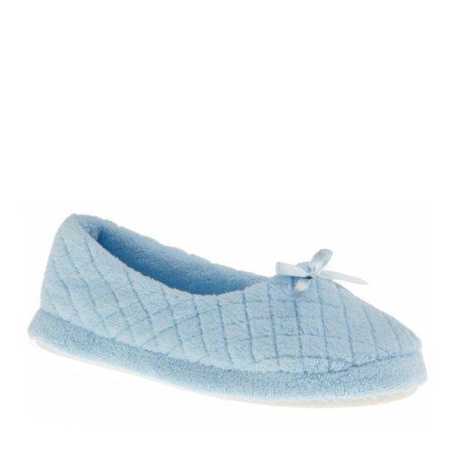 Cheap Muk Luks Women's Quilted Micro Chenille Ballerina Slippers (B008DCF75U)
