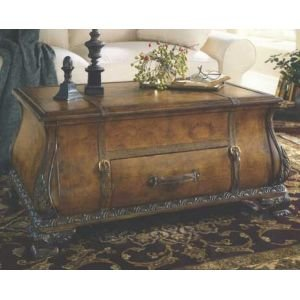 Old World Map Bombay Trunk Coffee Table Furniture