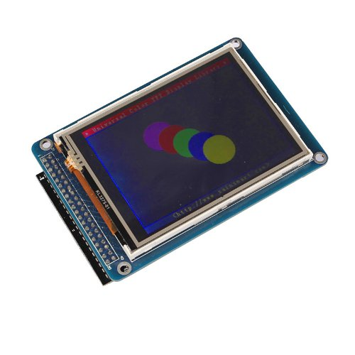 """Sainsmart 3.2"""" Tft Lcd Screen + Sd Card Slot + Tft Shield Kit For Arduino (Without Due)"""