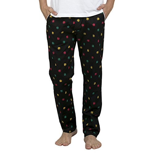 Bewakoofcom-Colored-Stoner-Mens-Printed-Pyjama